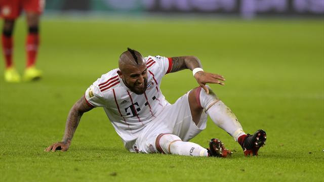 Vidal, che sfortuna: sarà operato al ginocchio, è in forte dubbio per la sfida al Real Madrid