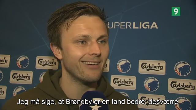 William Kvist: Brøndby er en tand bedre end Midtjylland
