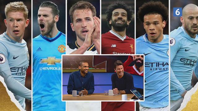 Her er de seks nomineret til årets spiller i Premier League