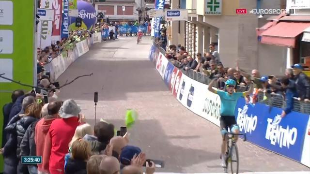 Tour de los Alpes: Enorme Pello Bilbao para ganar la etapa y ser primer líder