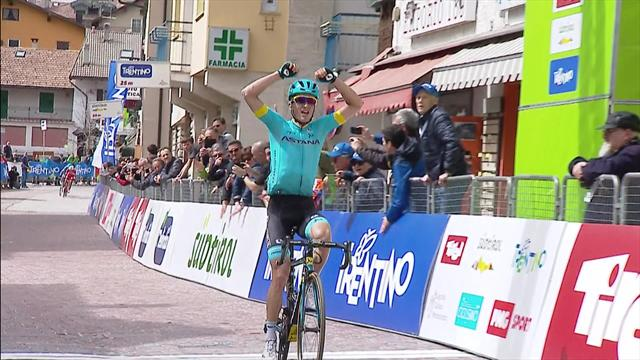 Tour of the Alps: Pello Bilbao attacks to take Stage 1