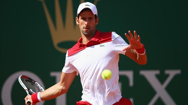 Masters 1.000 Montecarlo 2018: Novak Djokovic vence a Dušan Lajovic por 6-0 y 6-1 y ya mete miedo