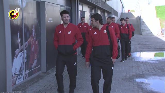 Raúl, Xabi Alonso, Valdés… primer día del curso de entrenadores