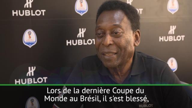 Brésil - Pour Pelé, Neymar a une seconde chance en Russie