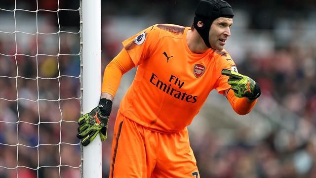 Petr Cech fires Gunners warning to win remaining fixtures in top-five aim