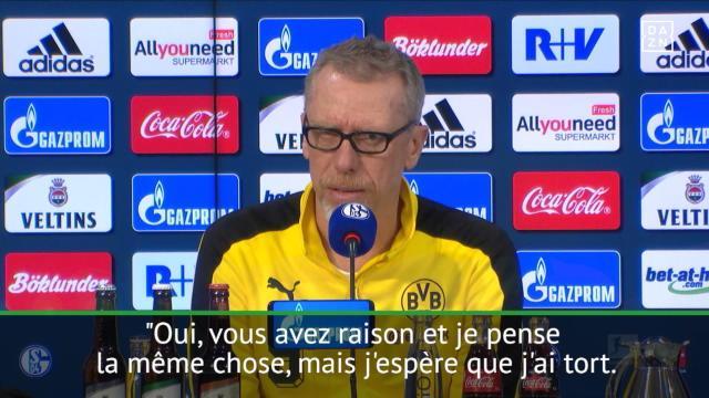 """Dortmund - Stoger : """"Batshuayi ? J'espère que ce n'est pas si terrible que ça"""""""