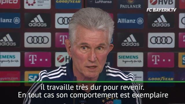 Bayern - Heynckes loue le ''comportement exemplaire'' de Tolisso