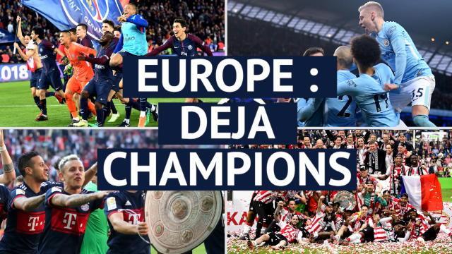 Europe - De si précoces champions...