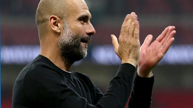 Pep Guardiola hailed a 'genius' following Manchester City's title triumph