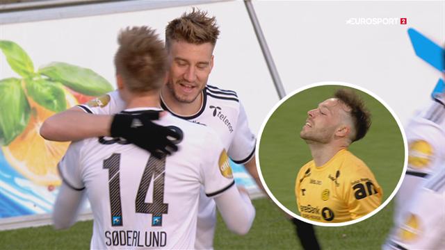 Highlights: Bendtner og co. sikrer sig 3 point mod bundhold!