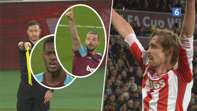 Highlights: To offsidemål, drop af Joe Hart – Carroll blev West Hams redningsmand!