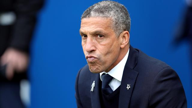 Brighton boss Hughton encouraged by West Brom victory over Manchester United