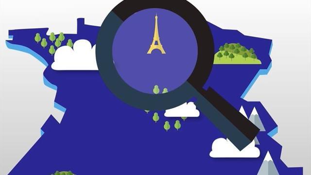 Mais au fait, où se trouvent Les Herbiers et Chambly sur la carte de France ?