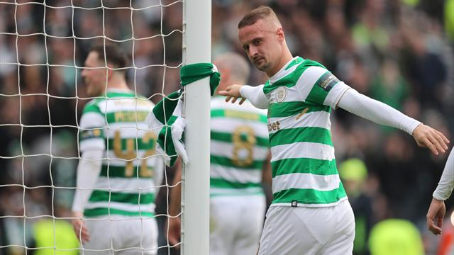 Celtic striker Griffiths fires warning to Well ahead of cup final