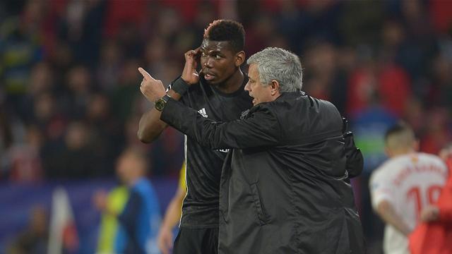 Mourinho : ''Pogba n'a pas été pire que les autres''