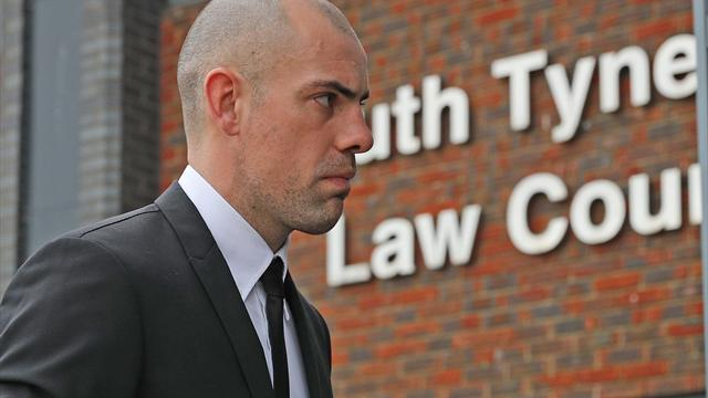 Gibson crashed into parked cars when three times over limit