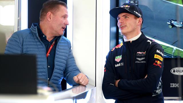 Rüffel vom Papa: Jos Verstappen kritisiert Max für Vettel-Crash