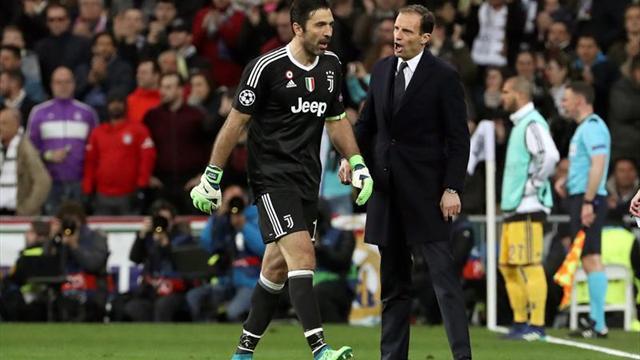 "Allegri: ""A Buffon le hizo bien la noche de Madrid"""