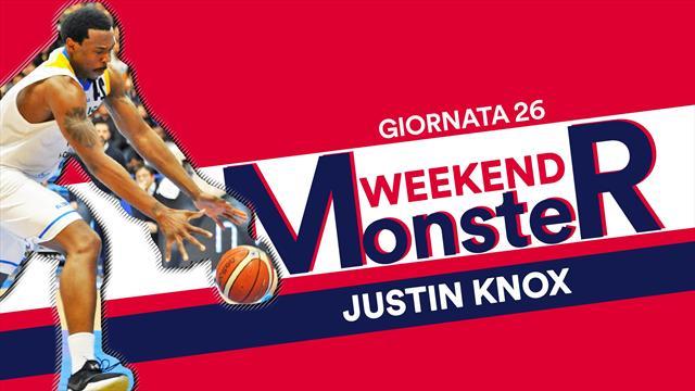Monster Weekend: Justin Knox resuscita Capo d'Orlando dopo 14 ko consecutivi