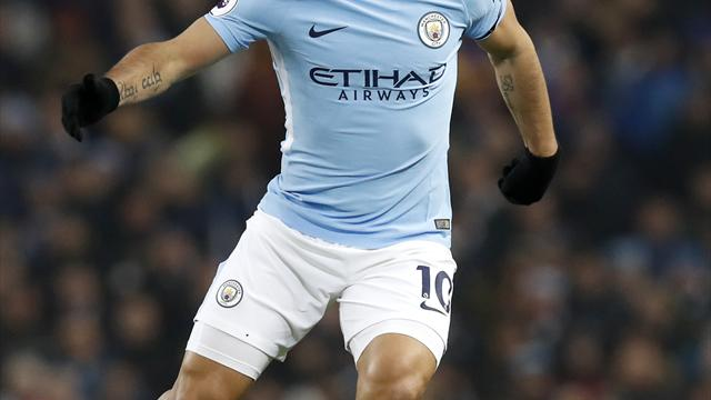 Manchester City striker Sergio Aguero undergoes knee surgery