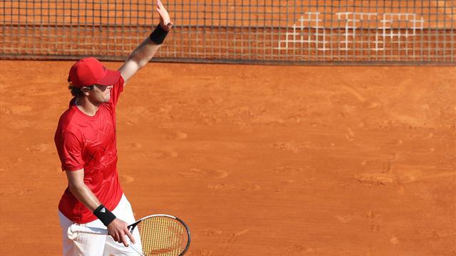 Mischa Zverev im Achtelfinale von Monte Carlo