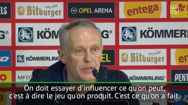 30e j. - Le coach de Fribourg dépité à cause de la VAR