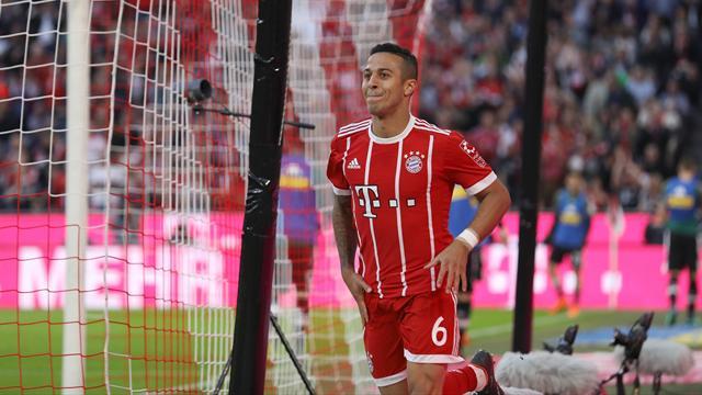 Bayern-Star Thiago ist Euer Spieler der 30. Spieltags