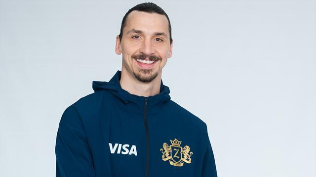 Ибрагимович стал лицом Visa в преддверии ЧМ-2018