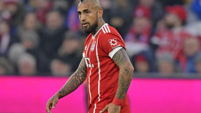Bayern München: Saison-Aus für Vidal