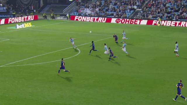 Pour son premier but en Liga, Dembélé a mis une jolie demi-volée