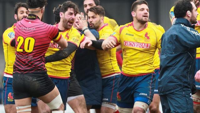 Rugby Europe castiga duramente a cinco jugadores españoles