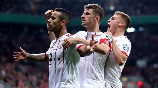 Le Bayern étrille Leverkusen et file en finale — Coupe d'Allemagne