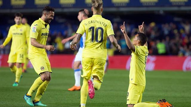 2-1. El Villarreal recupera la sonrisa ante un inofensivo Leganés