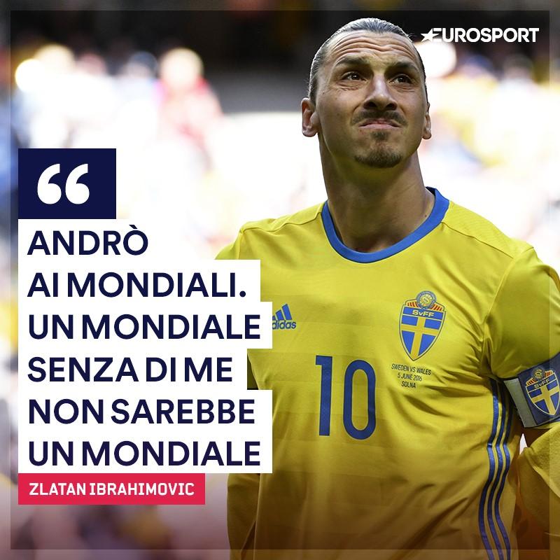Svezia, Ibrahimovic sicuro: