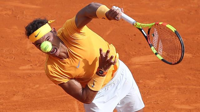 Nadal se pasea a octavos en Montecarlo, Djokovic necesitó más esfuerzo