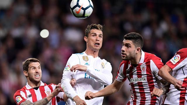 Grâce à Ronaldo, le Real évite le pire contre Bilbao