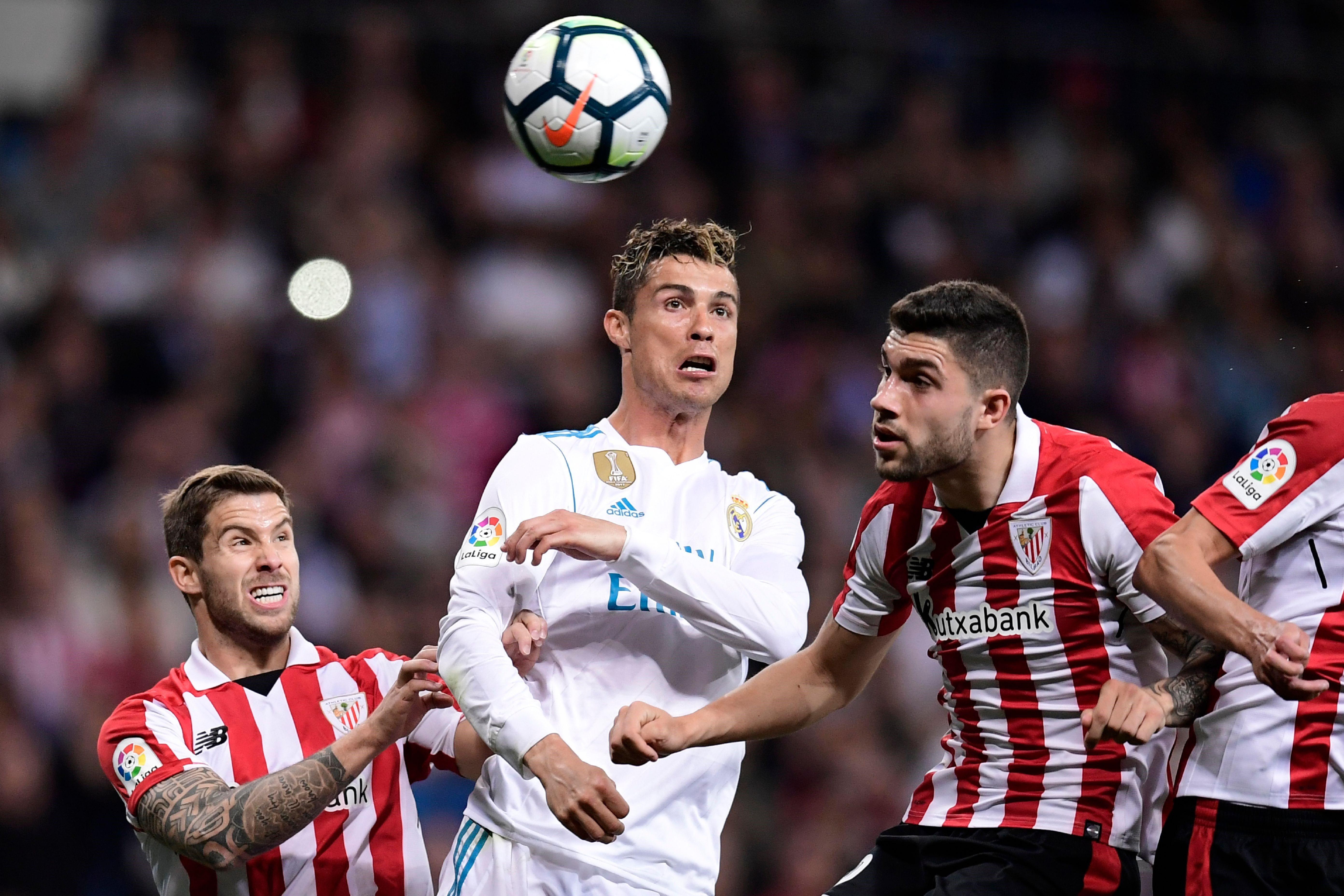 Криштиану Роналду («Реал» Мадрид), «Атлетик»