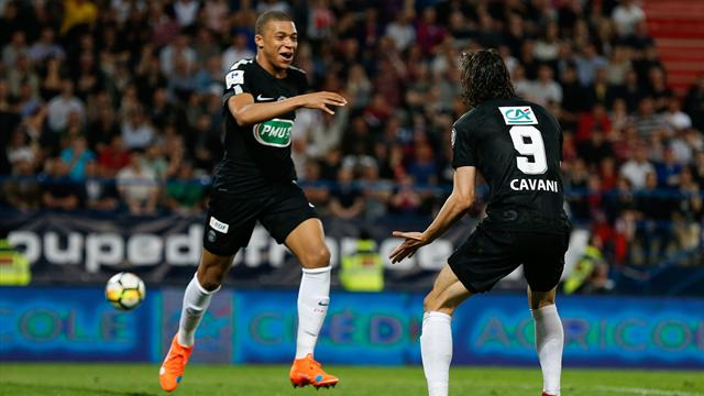 Mbappé trascina il PSG in finale di Coppa contro i dilettanti del Les Herbiers