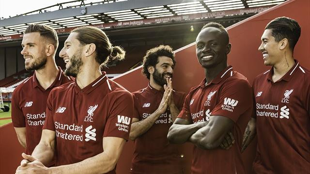 Liverpool'a yeni forma sponsoru