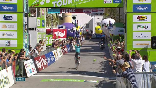 Luis Leon Sanchez flies to victory on Stage 4