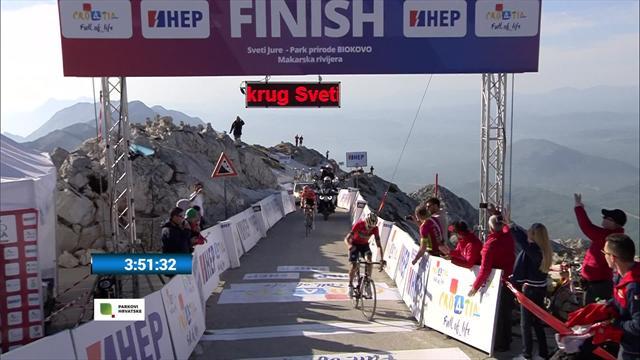 Tour de Croacia 2018: El bielorruso Siutsou se anota la tercera etapa y se viste de líder