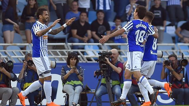 L'Atlético se fait punir par la Real Sociedad et voit le Real revenir à 3 points