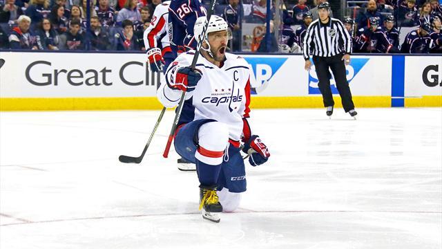Play-off de NHL: le retour des Capitals