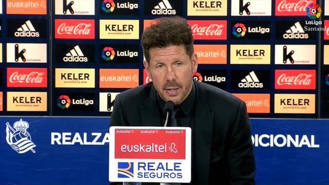 Simeone advierte de los errores fuera de casa y pide corregirlo, sobre todo en la Europa League