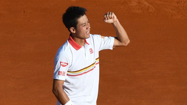Kei Nishikori, è il giapponese lo sfidante di Nadal in finale a Monte Carlo: battuto Zverev