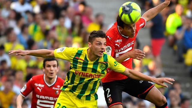 Nantes et Rennes font du surplace