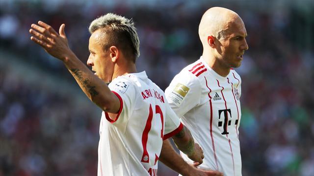 Bundesliga, Hannover-Bayern: No levantan el pie del acelerador (0-3)