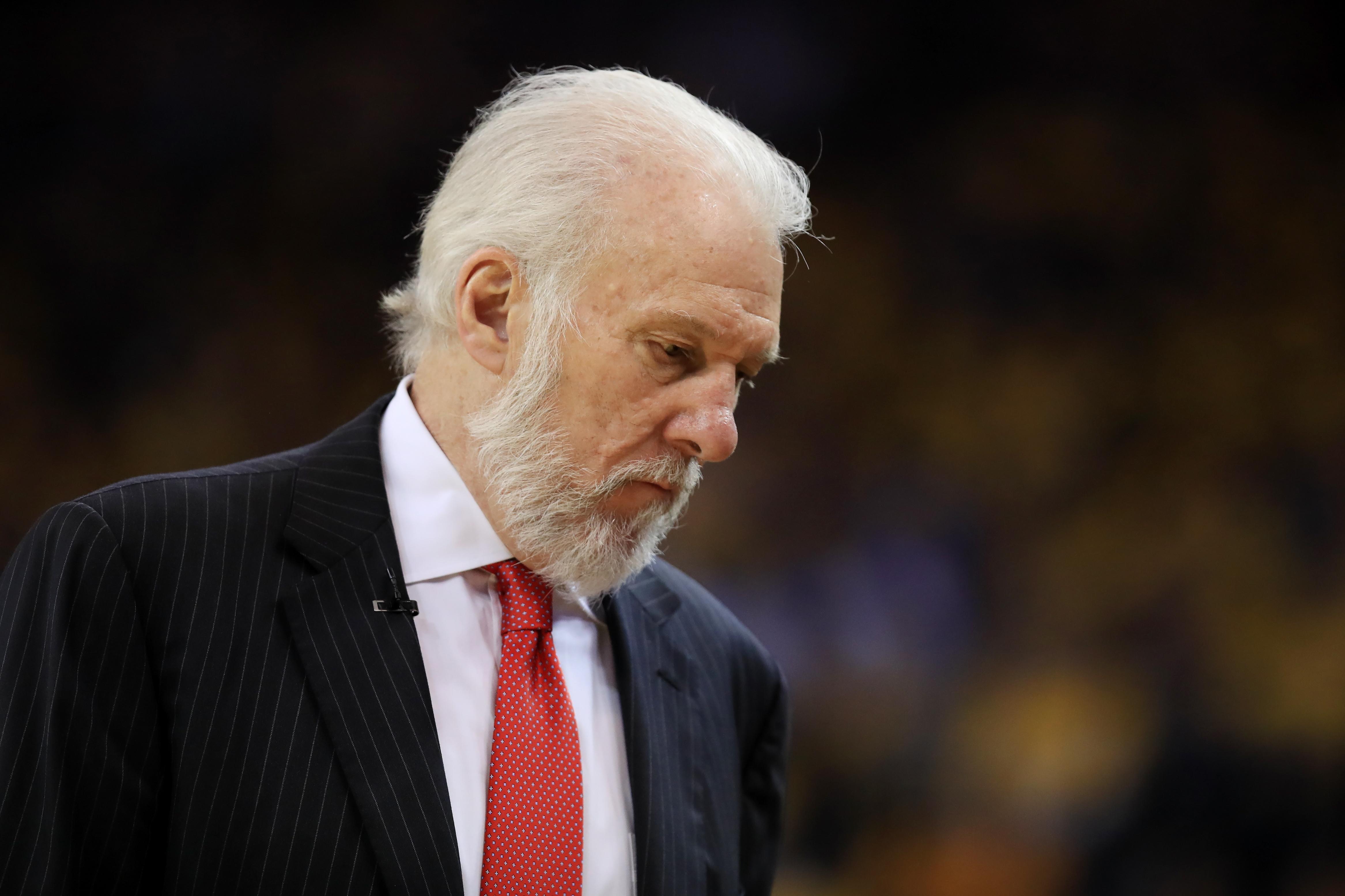 Gregg Popovich | San Antonio Spurs | NBA