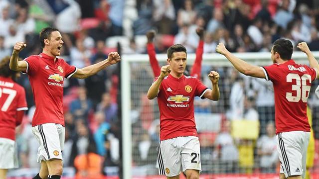 Copa Inglesa, United-Tottenham: Ander Herrera lleva a Mourinho a la final (2-1)