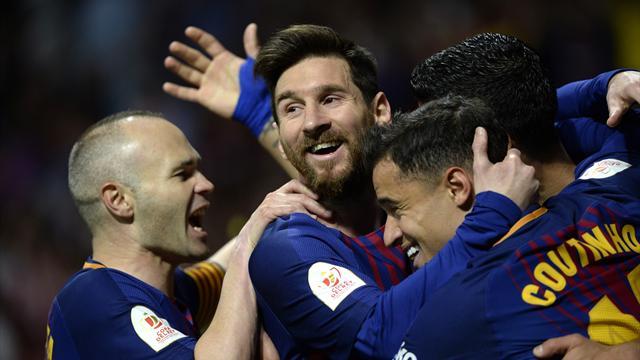 Siviglia-Barcellona 0-5, show blaugrana con Iniesta e Messi: gli highlights